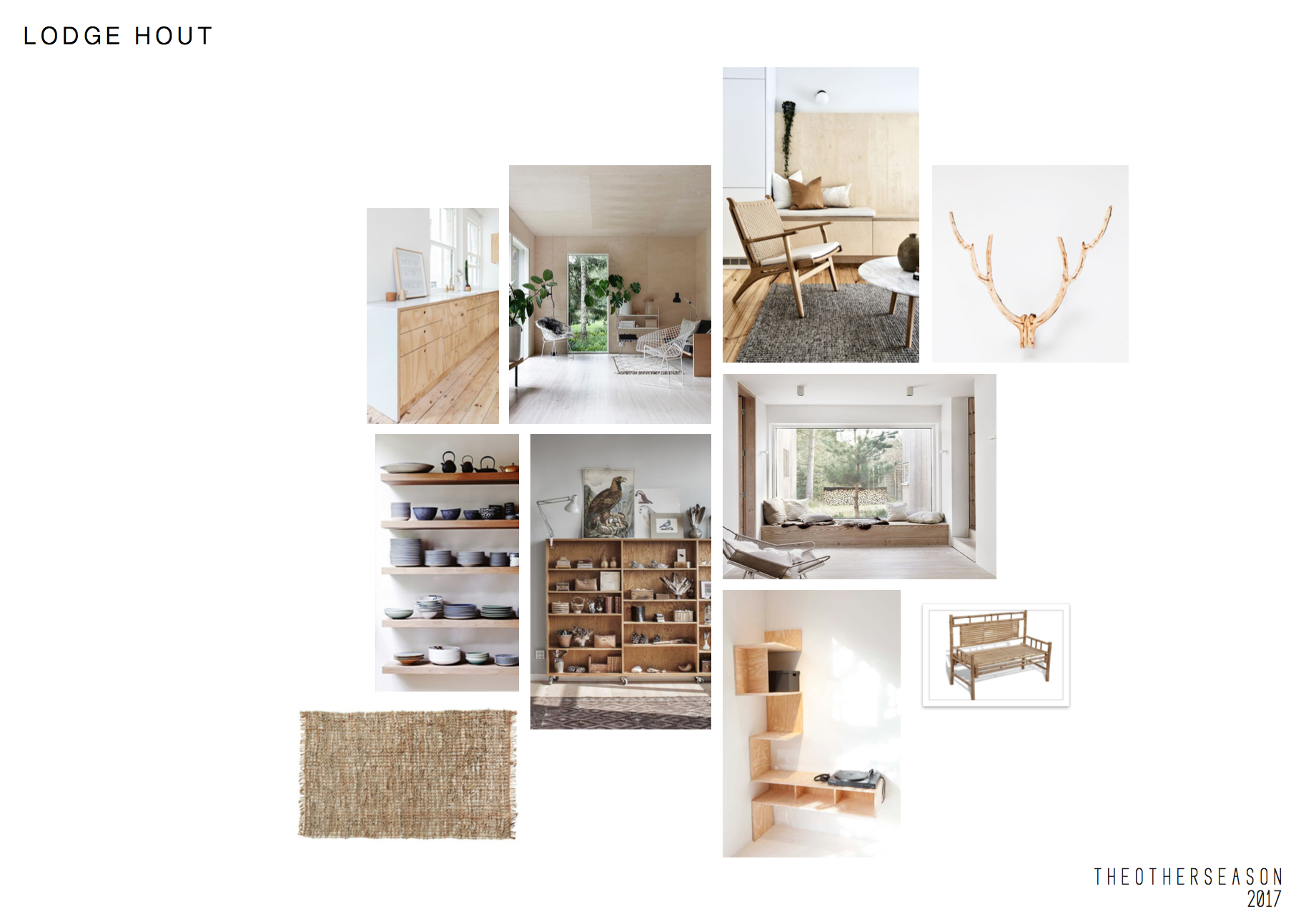 The Other Season - Free Lodge Amsterdam West - concept - styling - interior design